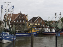 Neuharlingersiel Royalty Free Stock Images