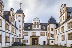 Neuhaus城堡在帕德博恩,德国 免版税库存图片