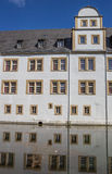 Neuhaus castle of Paderborn and reflection in the water Stock Photography