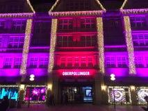Neuhauser Strasse в рождестве Стоковое Фото