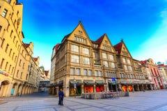 Neuhauser ulica w Monachium, Niemcy Obraz Royalty Free