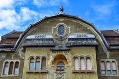 Neuhausz pałac fasada Obrazy Royalty Free
