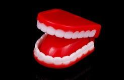 Neuheit-Zähne lizenzfreie stockbilder