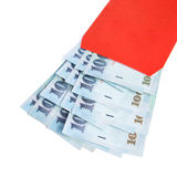 Neujahrsfest-Rot-Umschlag Stockfotos
