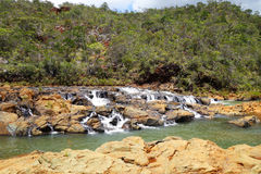 Neukaledonien ` s Fluss stockbild