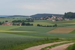 Neukirchen在夏天 库存照片