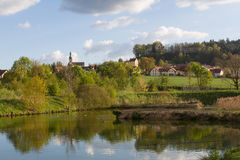 Neukirchen в Баварии Стоковое фото RF