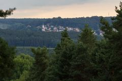 Neukirchen en Schwandorf Foto de archivo
