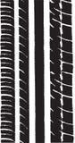 Neumático 1 del coche stock de ilustración