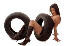 Neumático imagen de archivo libre de regalías