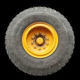 Neumático aislado del carro Foto de archivo