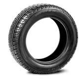 Neumático aislado en el fondo blanco Fotografía de archivo libre de regalías