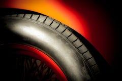 Neumático auto imagen de archivo libre de regalías