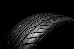 Neumático de coche Fotografía de archivo libre de regalías