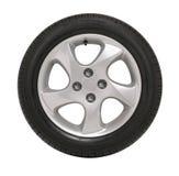 Neumático de coche Imagenes de archivo