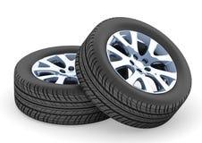 Neumático de coche Fotos de archivo