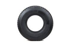 Neumático de coche aislado en el fondo blanco Fotografía de archivo libre de regalías