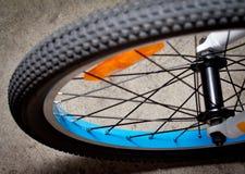 Neumático de la bici Imágenes de archivo libres de regalías