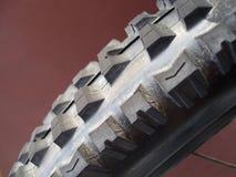 Neumático de la bici de montaña Imagen de archivo