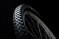 Neumático de la bicicleta Fotografía de archivo