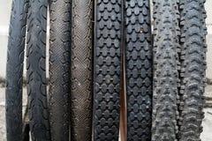 Neumático de la bicicleta Imagen de archivo libre de regalías