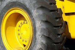 Neumático de la maquinaria Foto de archivo