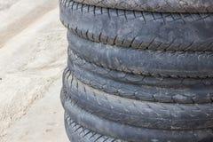 Neumático de la motocicleta fotografía de archivo libre de regalías