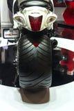 Neumático de la motocicleta Foto de archivo libre de regalías