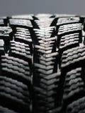 Neumático de la nieve Fotografía de archivo