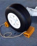 Neumático de los aviones Imagenes de archivo