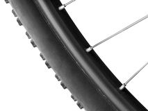 Neumático de una bicicleta Foto de archivo