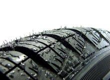 Neumático del coche Imagenes de archivo