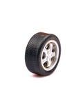 Neumático del coche fotografía de archivo libre de regalías