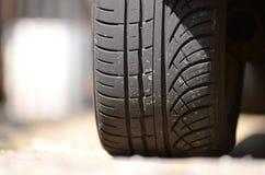 Neumático del coche Foto de archivo