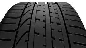 Neumático del coche fotos de archivo libres de regalías