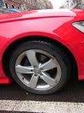 Neumático del coche de Audi fotos de archivo