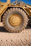 Neumático del motor de la tierra Imagen de archivo