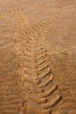 Neumático del tractor Fotos de archivo