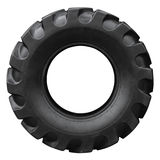 Neumático del tractor foto de archivo
