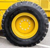 Neumático grande Foto de archivo libre de regalías