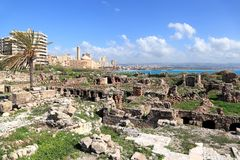 Neumático, Líbano Imágenes de archivo libres de regalías