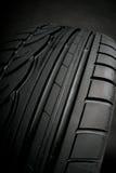 Neumático negro Imagenes de archivo