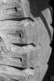 Neumático rugoso Fotografía de archivo libre de regalías