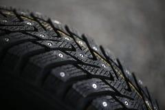 Neumático tachonado Fotografía de archivo