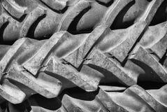 Neumático usado foto de archivo libre de regalías