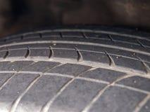 Neumático viejo imagenes de archivo