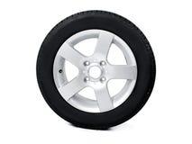 Neumático y borde Fotografía de archivo libre de regalías