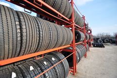 Neumáticos Fotos de archivo libres de regalías