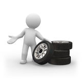 Neumáticos Imagen de archivo libre de regalías