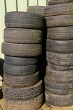 Neumáticos Fotografía de archivo libre de regalías